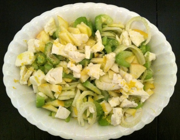 Summery Sides: Fennel & Celery Salad | Deux Maisons