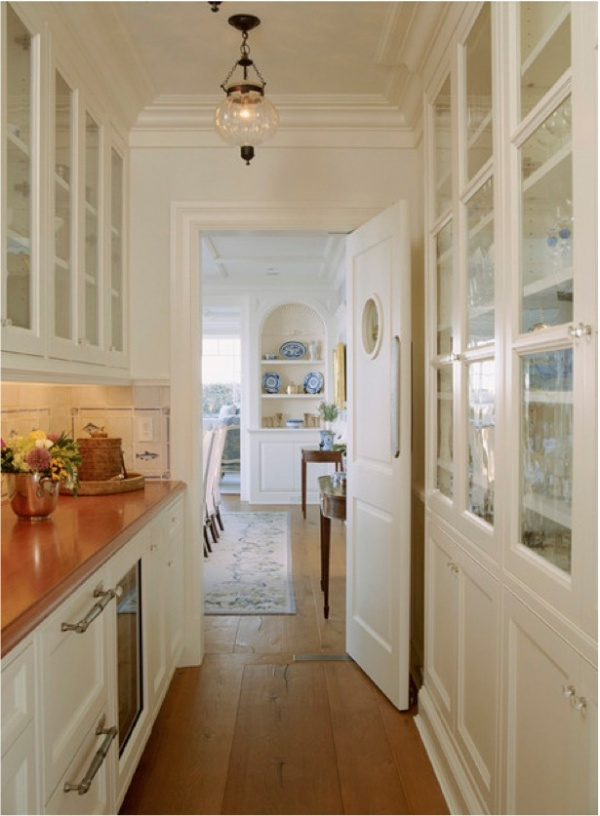 Chatham Butler's Pantry - traditional - kitchen - dc metro - by Pamela Gaylin Ryder, Inc